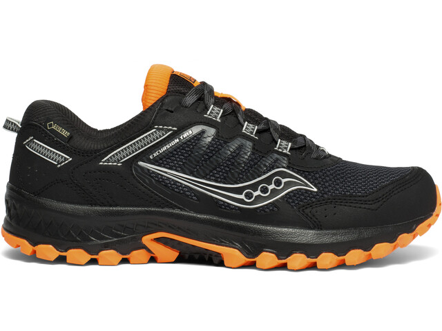 saucony Excursion TR13 GTX Kengät Miehet, black/orange